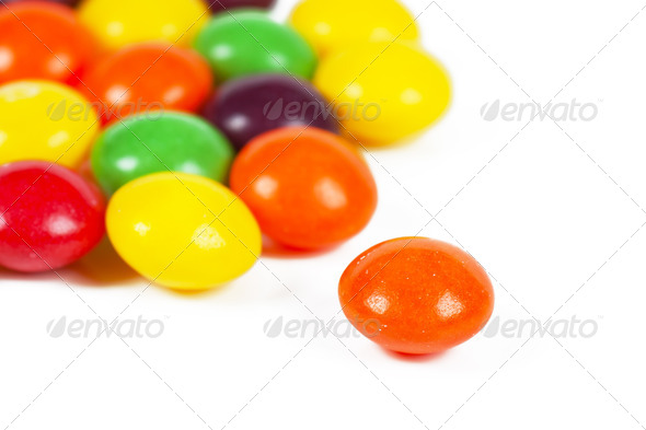 Colorful dragees - Stock Photo - Images