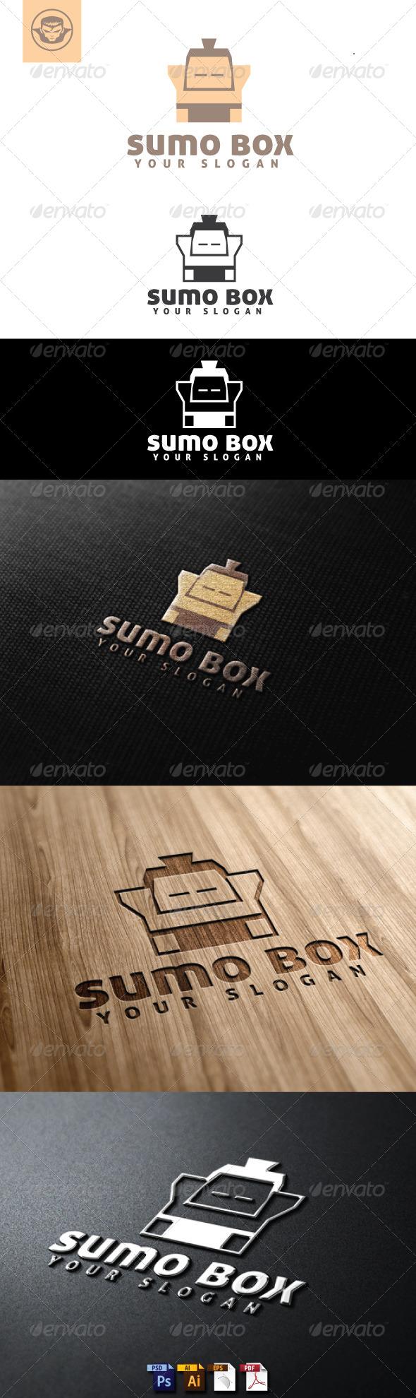 Sumo Box Logo Template - Humans Logo Templates