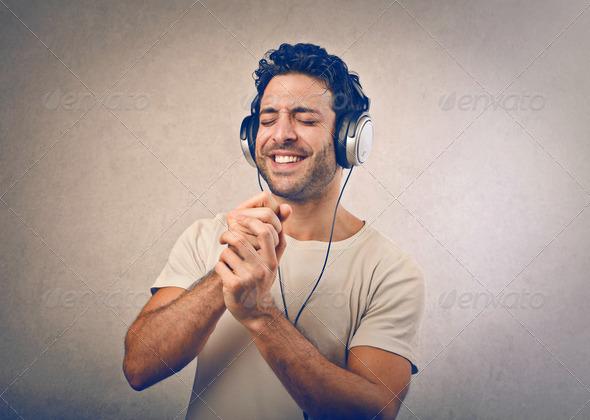 headphones - Stock Photo - Images