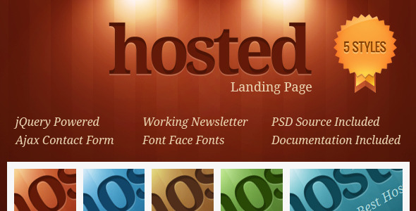 Free Download Hosted Landing Page Nulled Latest Version