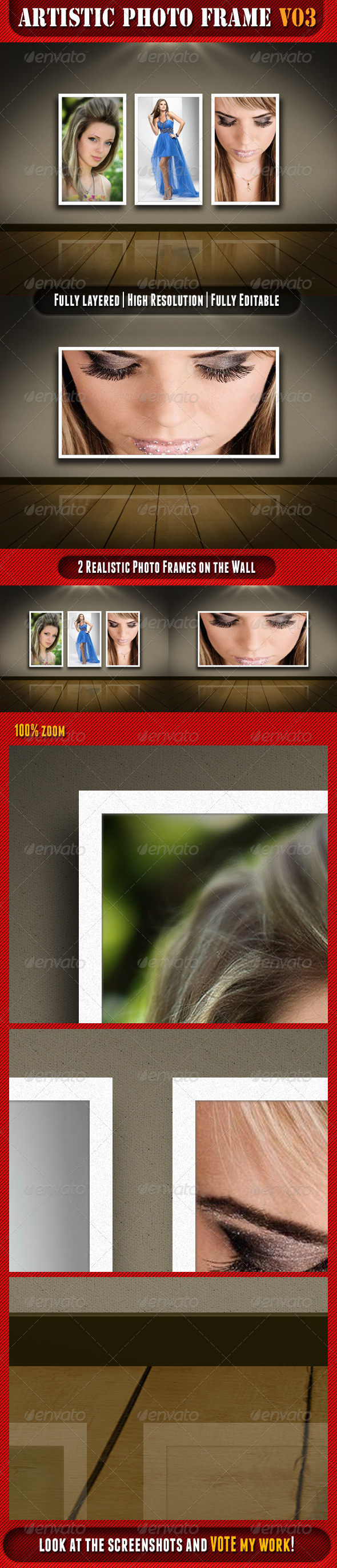 Artistic Photo Frame 03 - Artistic Photo Templates
