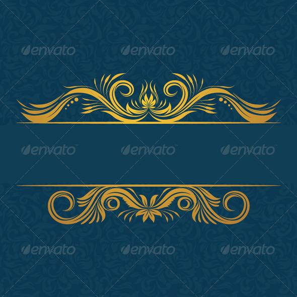 Decorative Invitations Card - Patterns Decorative