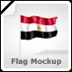 Flag Mock-Up - GraphicRiver Item for Sale
