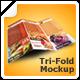 Modern TriFold Mockup v1 - GraphicRiver Item for Sale