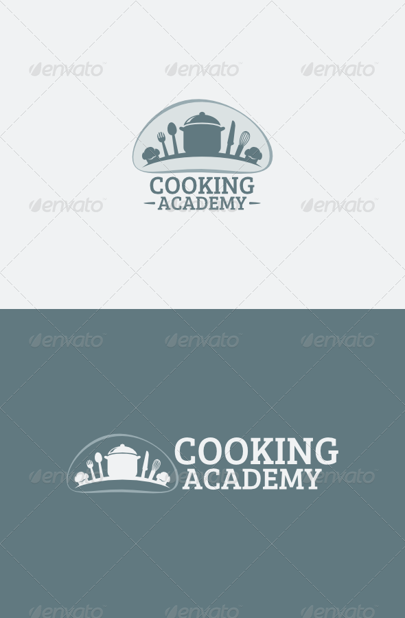 Cooking Academy logo - Food Logo Templates