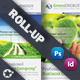 Green Energy Roll-Up Template - GraphicRiver Item for Sale
