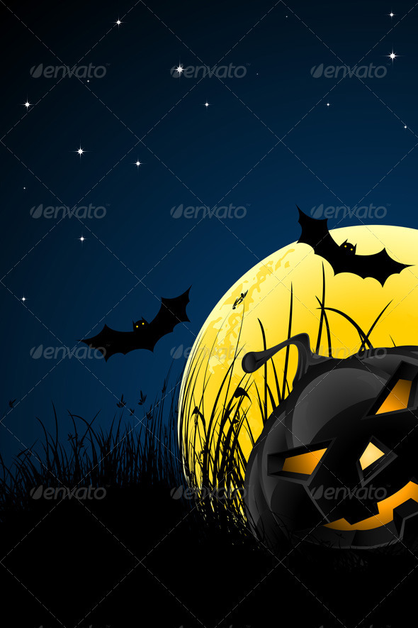 Halloween Night Background - Halloween Seasons/Holidays