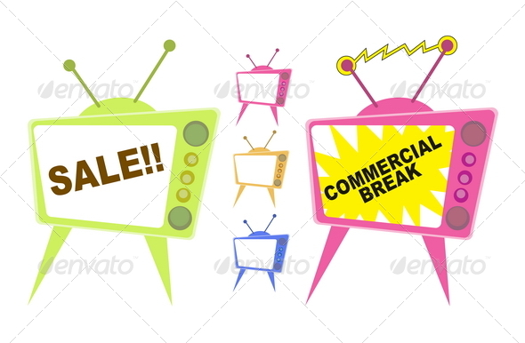 Sale TV Ad - Commercial / Shopping Conceptual