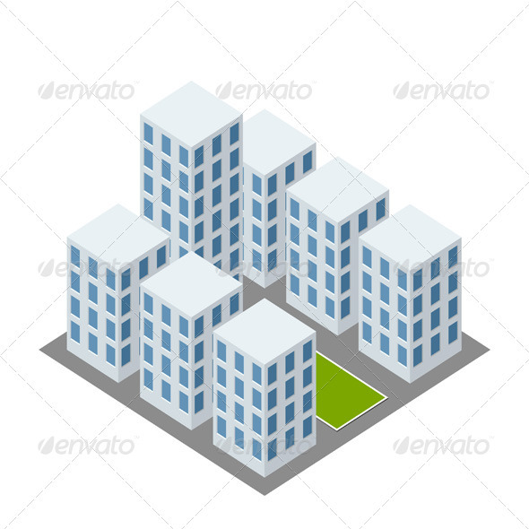 Isolated Complex - Buildings Objects