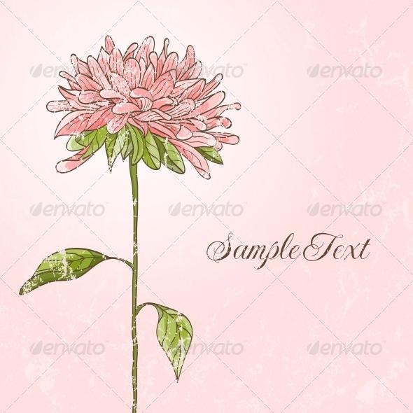 Hand Drawn Flower - Flowers & Plants Nature