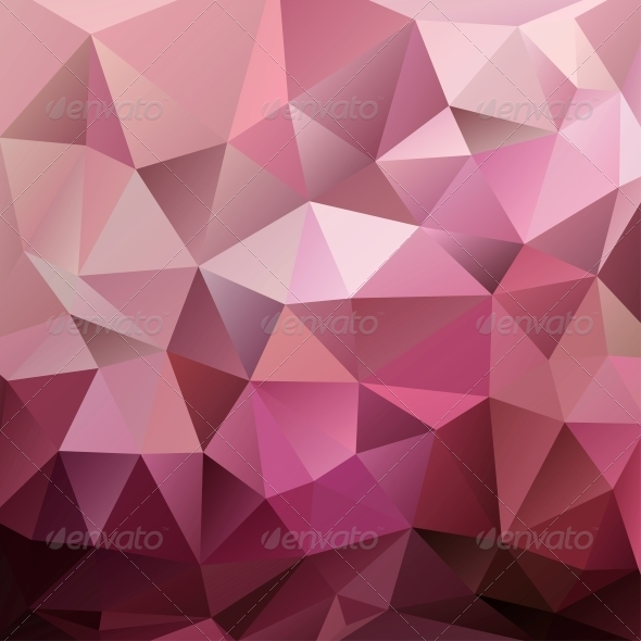 Abstract Red Triangle Background - Abstract Conceptual