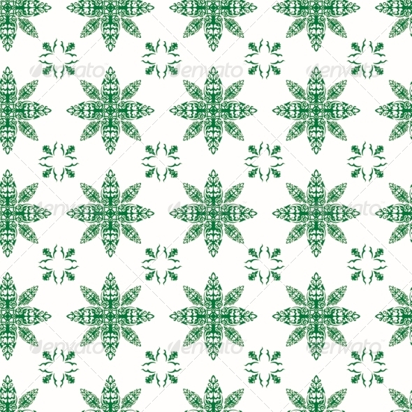 Pattern in Antique Style for Printing - Patterns Decorative