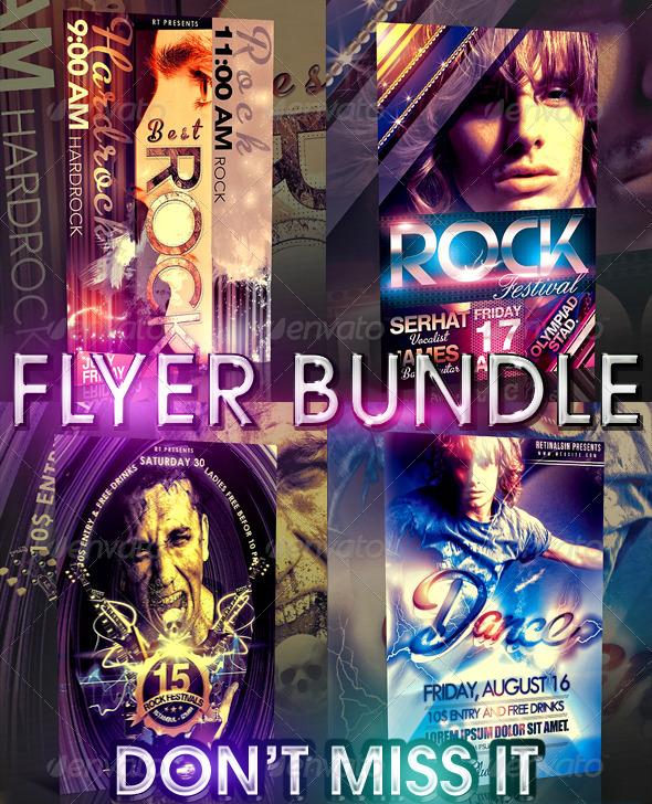 Bestrock Flyer Bundle - Clubs & Parties Events