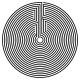 Black Round Labyrinth - GraphicRiver Item for Sale