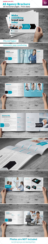 Agency Brochure A5 - Corporate Brochures