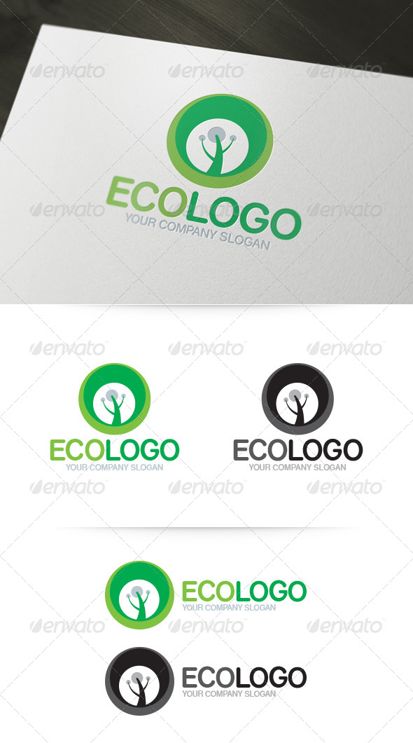 Eco Logo - Nature Logo Templates