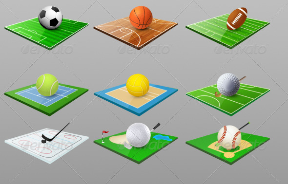 Sports Icons - Miscellaneous Icons