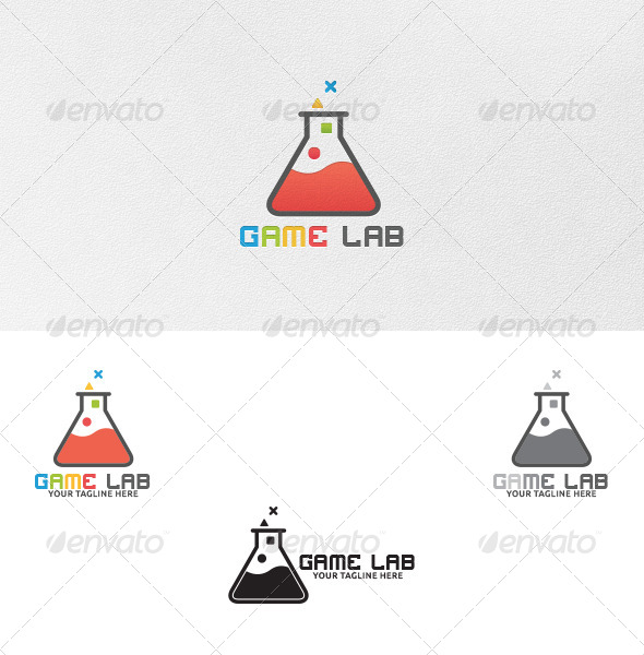 Game Lab - Logo Template - Symbols Logo Templates
