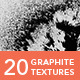 20 Graphite Textures - GraphicRiver Item for Sale