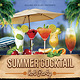 Summer Cocktail Party Flyer Vo.2 - GraphicRiver Item for Sale