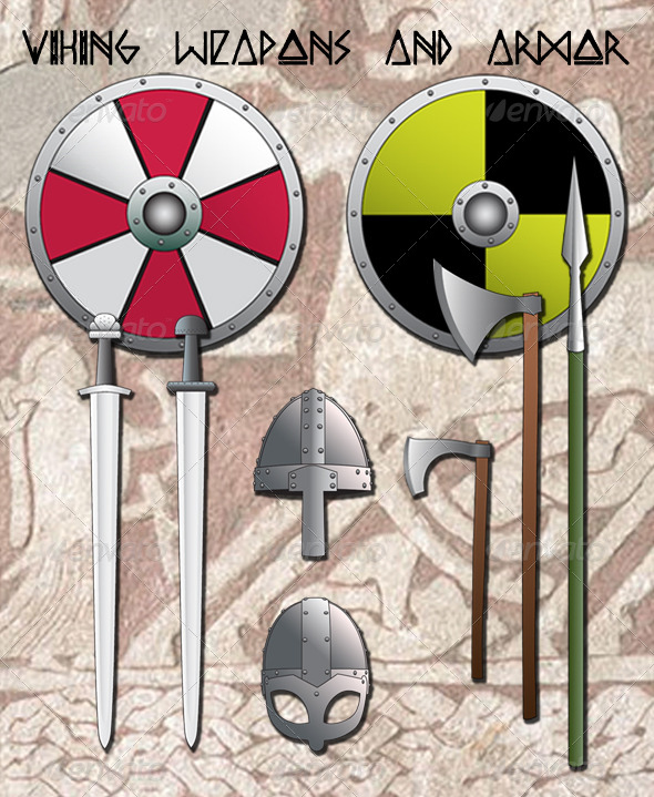 Viking Weapons and Armor - Man-made Objects Objects