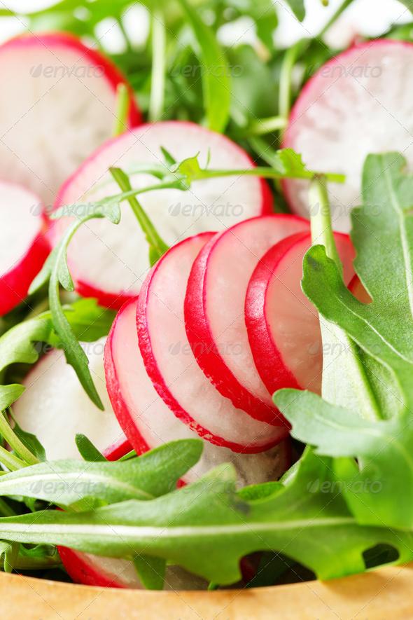 sliced green radish - 590×885