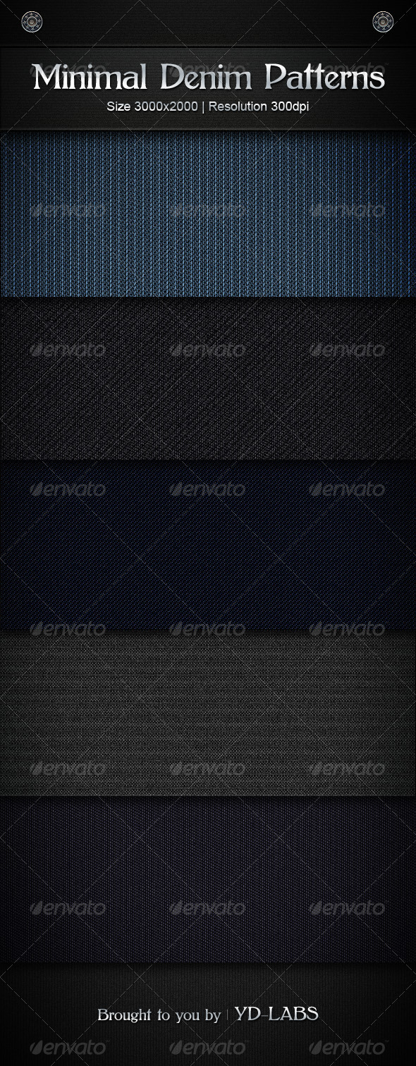 Minimal Denim Patterns - Patterns Backgrounds