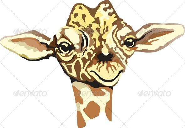 Giraffe - Animals Characters