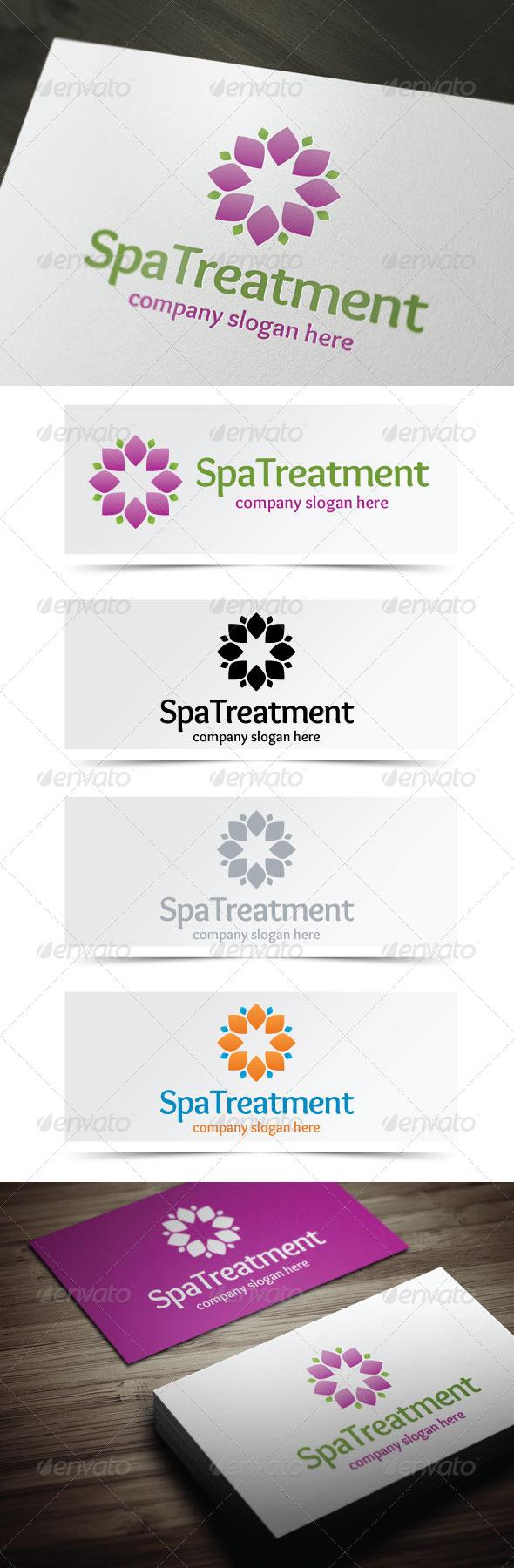 Spa Treatment  - Abstract Logo Templates