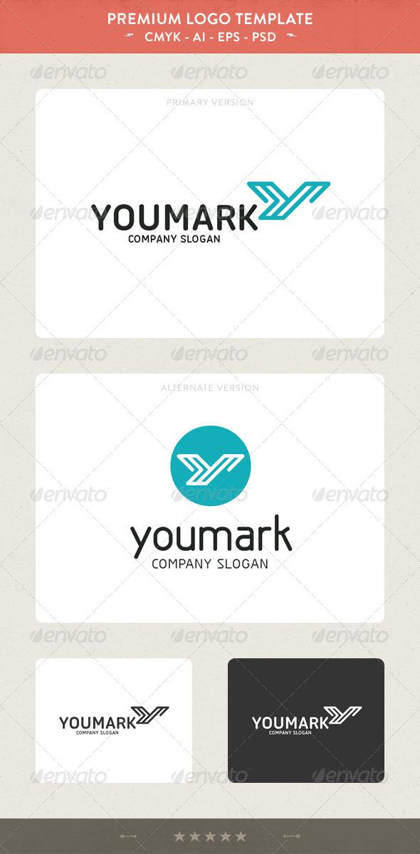 YouMark - Y Letter Logo - Letters Logo Templates