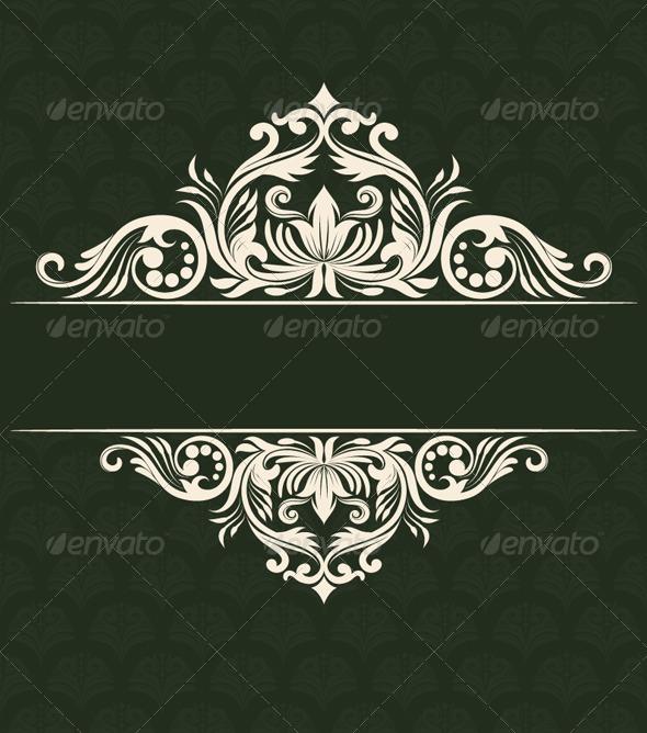Invitations Ornament - Patterns Decorative