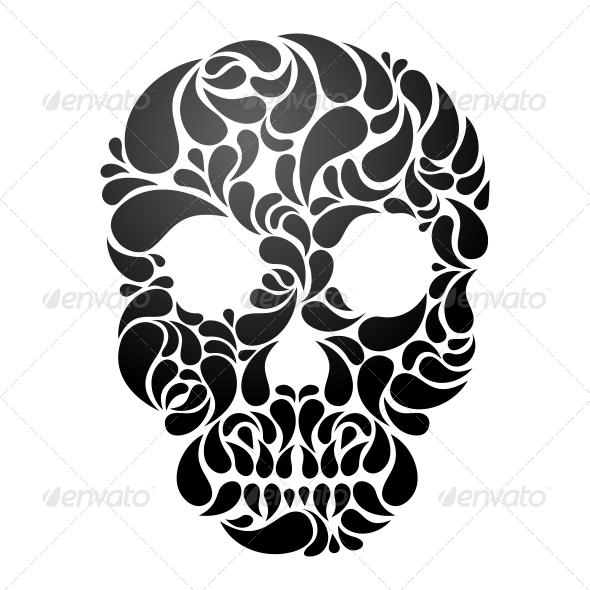 Vector Skull - Tattoos Vectors
