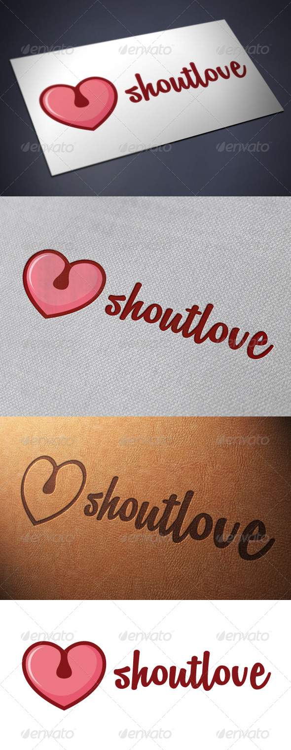 Shout Logo Template - Humans Logo Templates