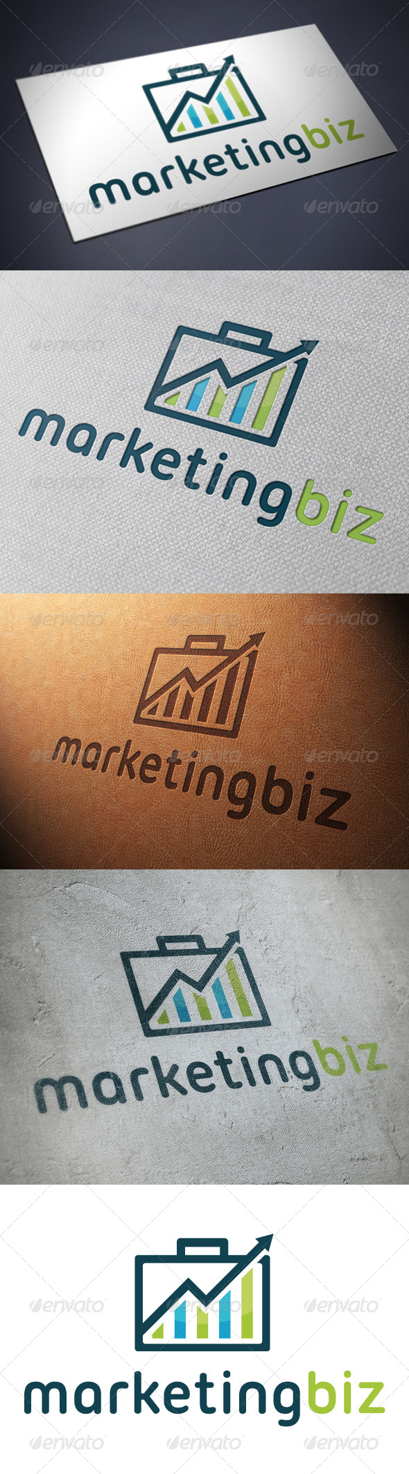 Marketing Business Logo Template - Objects Logo Templates