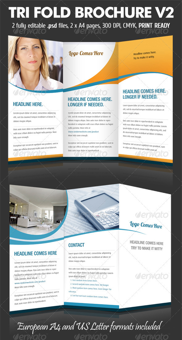 TriFold Brochure V2 - Corporate Brochures