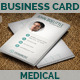 Clean Medical Business Card - GraphicRiver Item for Sale