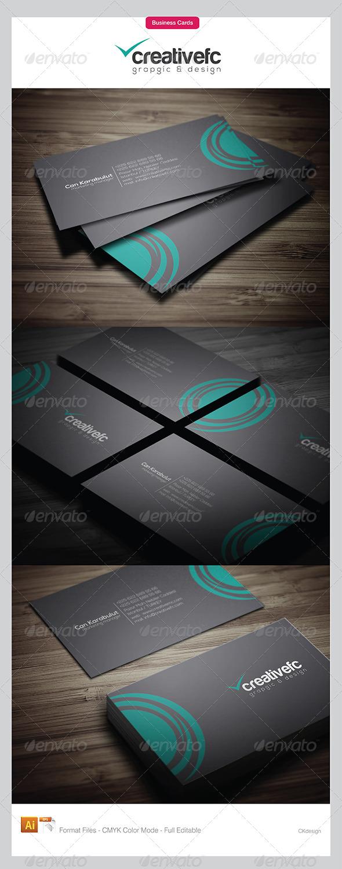 Corporate Business Cards 3424 - Corporate Business Cards