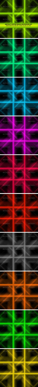 Lighting Mosaic Background Set - Backgrounds Graphics