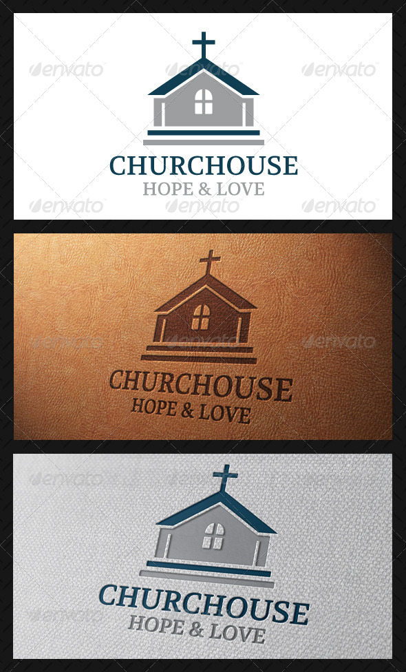 Church Classic Logo Template - Buildings Logo Templates