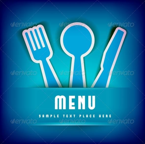 Restaurant Menu Card Design template - Backgrounds Decorative