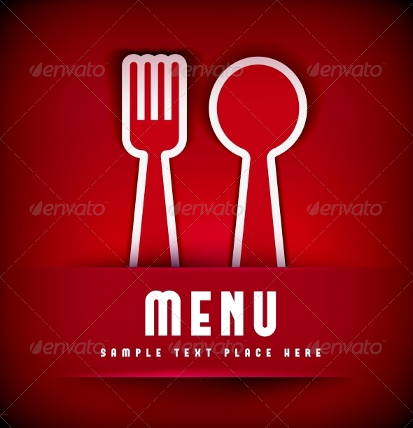 Restaurant Menu Card Design template - Backgrounds Decorative
