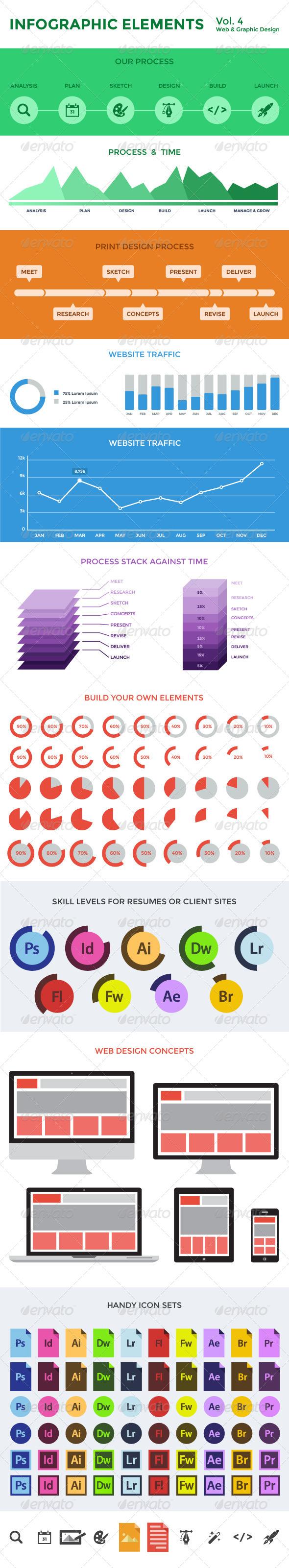Infographic Elements - Vol. 4 - Infographics