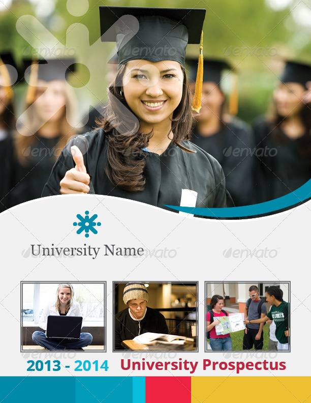 University Prospectus Template By Azadcsstune | Graphicriver