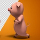 Little Pig Character - Walk And Run (2-Pack) - VideoHive Item for Sale