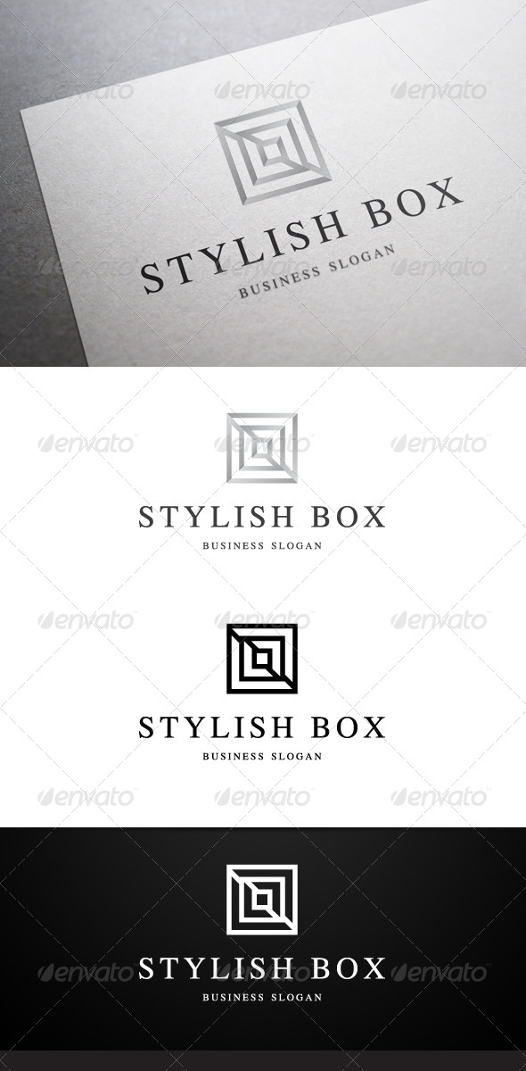 Stylish Box Logo - Abstract Logo Templates