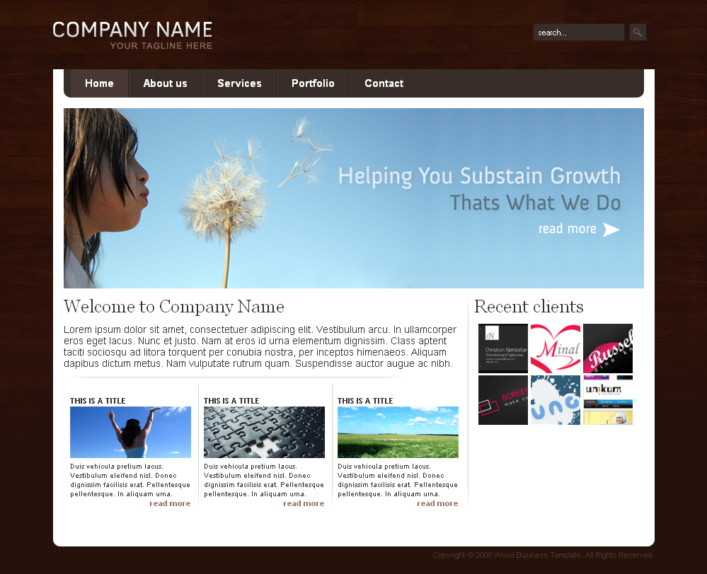 Free Download Wood Business Template Nulled Latest Version