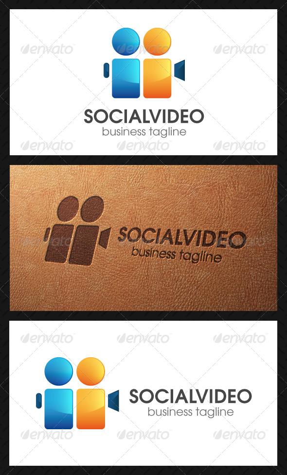 Social Video Logo Template - Humans Logo Templates