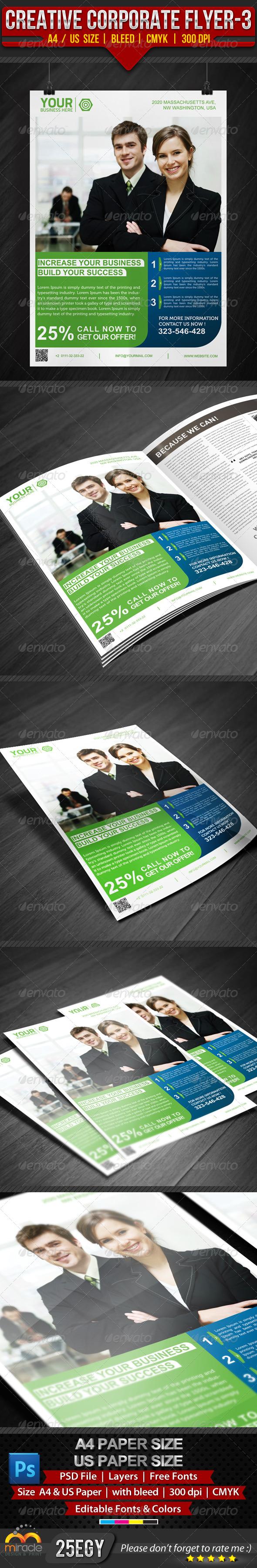 Creative Corporate Flyer 3 - Corporate Flyers