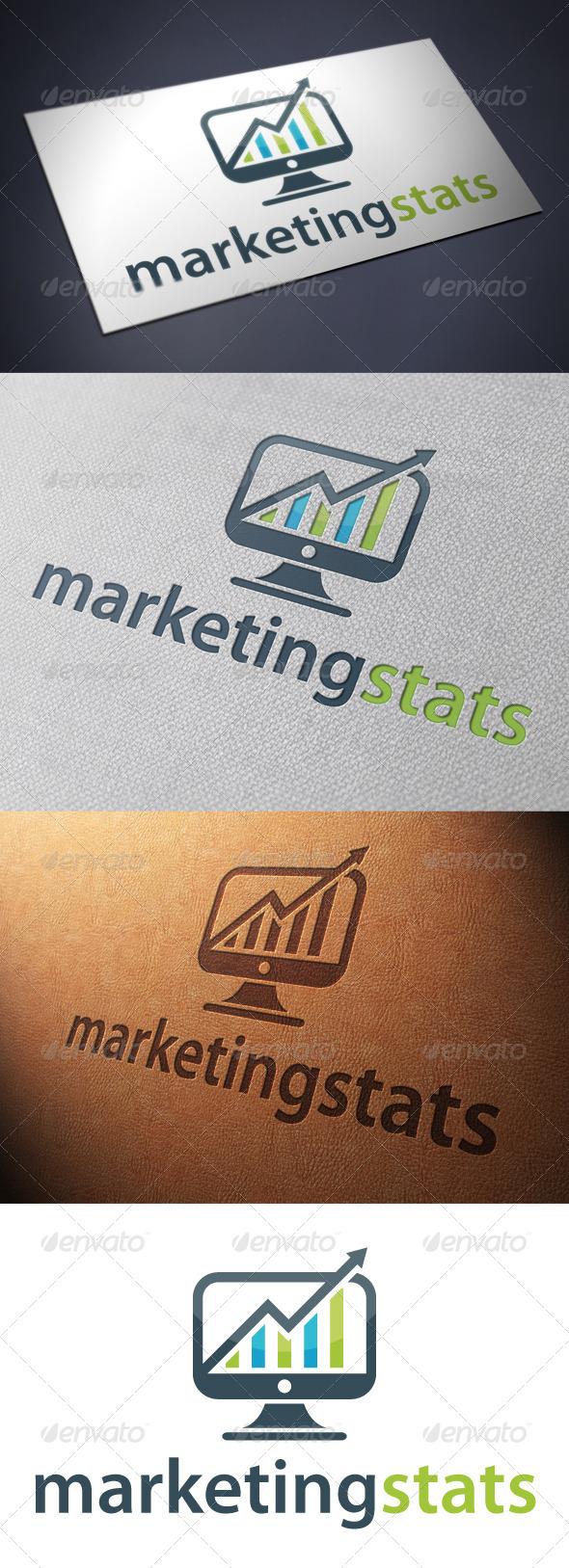 Marketing Online Logo - Symbols Logo Templates