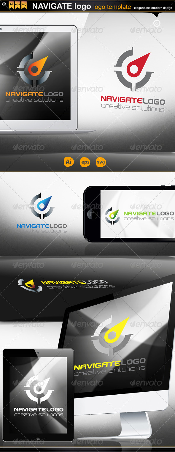 Navigate Logo - Logo Templates